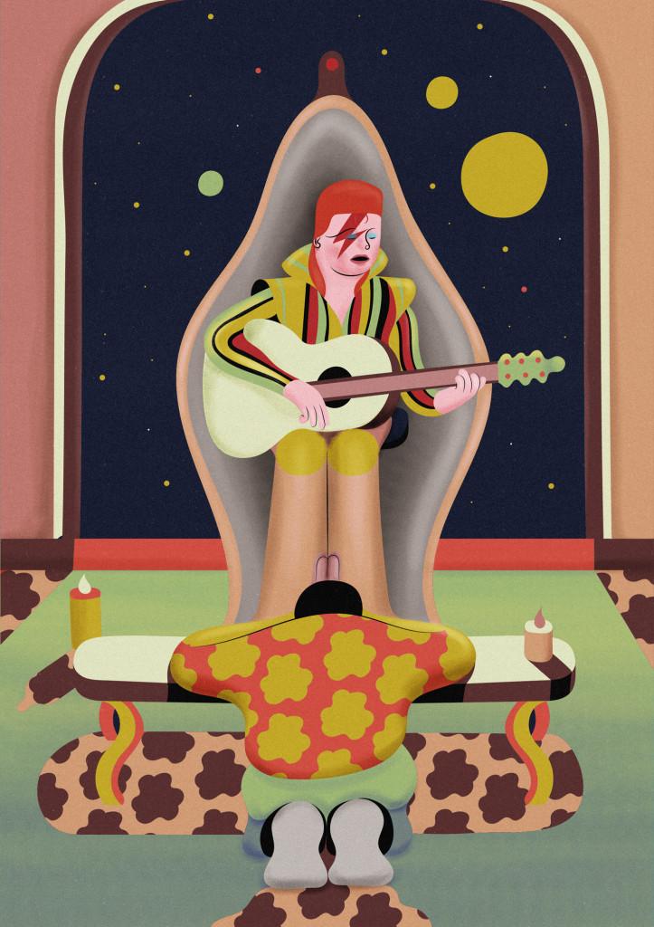 1 David Bowie by Carlin Diaz
