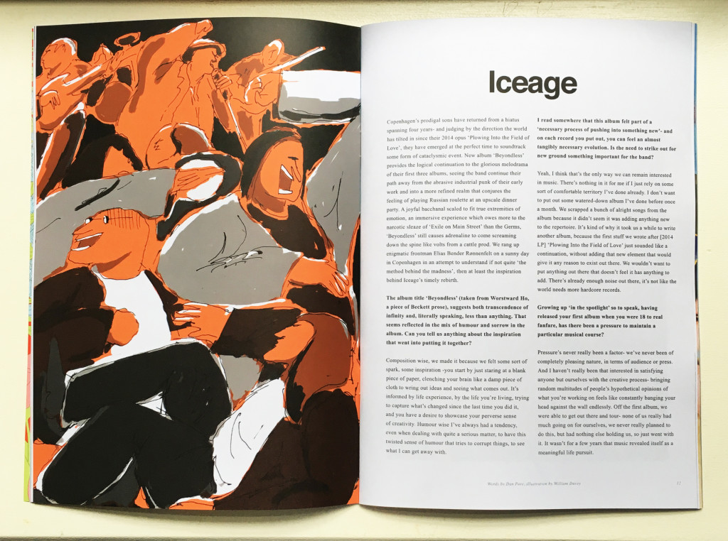 So Young 17 Iceage by William Davey Spread