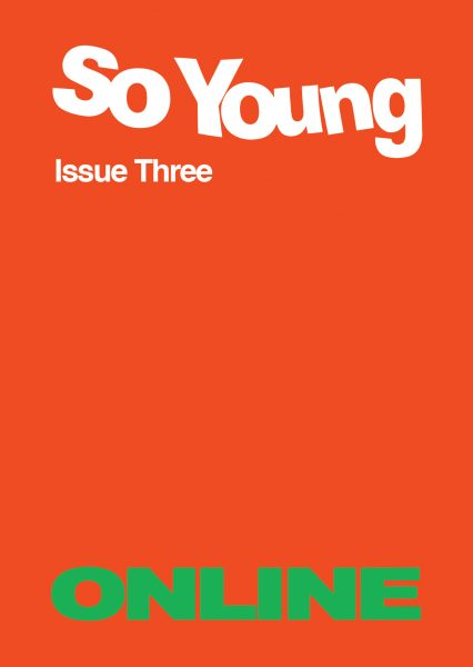 Issue Three - Online Cover