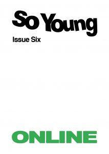 Issue Six - Online Cover