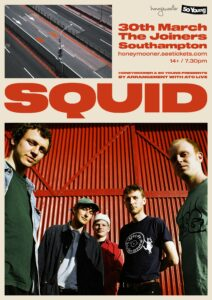 Squid at The Joiners, Southampton *New Date*