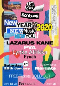 New Year, New Music, New You: Lazarus Kane, PVA, Lynks Afrikka & Pynch