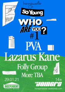 Who Are You? #1 PVA, Lazarus Kane, Folly Group & more TBA