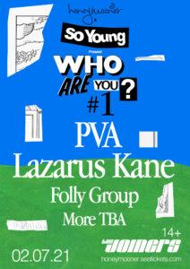 Who Are You? #1 PVA, Lazarus Kane & Folly Group